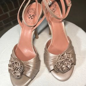 Blush/Taupe Vince Camino Sandals size 7.5